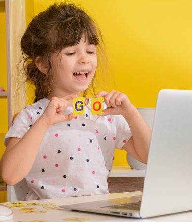 Children,Learn,English,Online,At,Home.,Homeschooling,And,Distance,Education